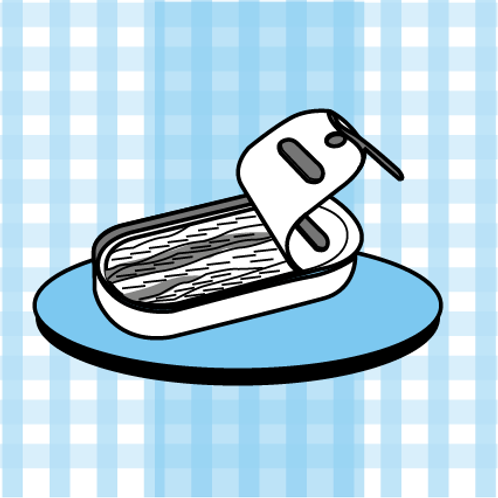 La boite d'anchois de Cantabrie
