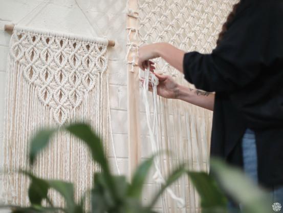 Brisa Macrame, La Creme Residency Program. Image by Kayapa. Documenting Artists