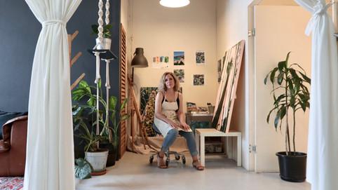 Olivia Dilks, La Creme Residency Program. Image by Kayapa