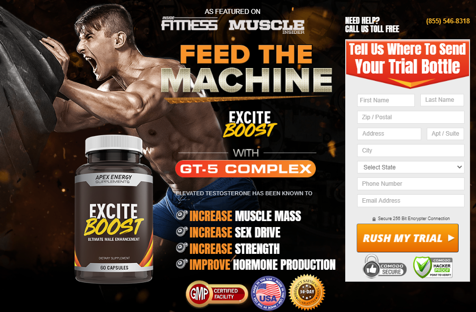 Excite Boost Musle