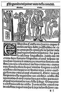 Primera edición de Calisto y Melibea por Fadrique Alemán de Basilea en Burgos, Castilla y Léon