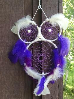 Owl - Purple