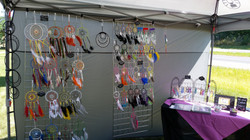 Part of my booth display
