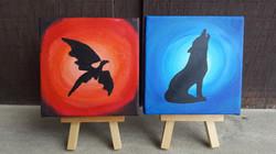 Houses Dragon & Wolf