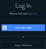 Log In/Sign-up area