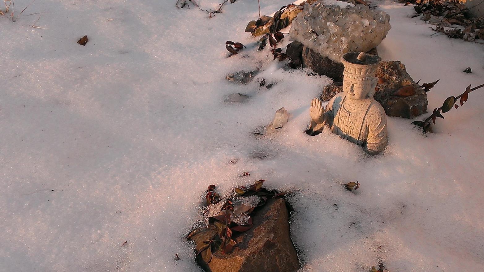 Snow Budha