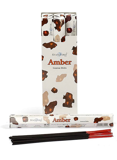 Stamford's Amber Incense (Pack of 6)