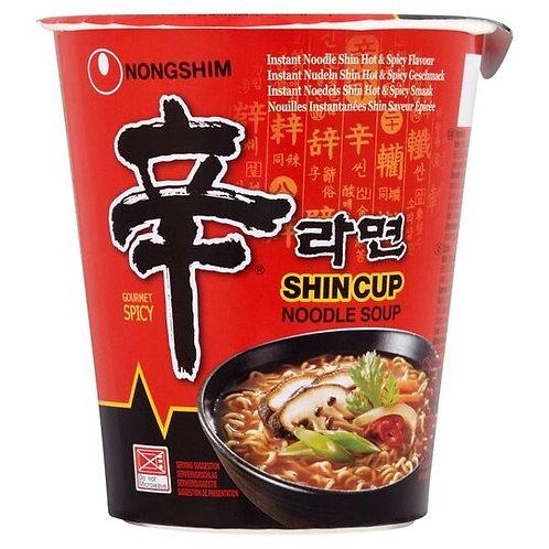 Nongshim Instant Shin Cup Noodle Soup 68G