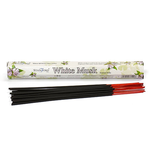 Stamford's White Musk Incense (Pack of 6)