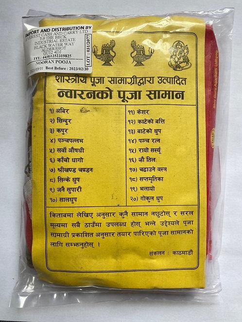 Puja Samagri for Nwaran