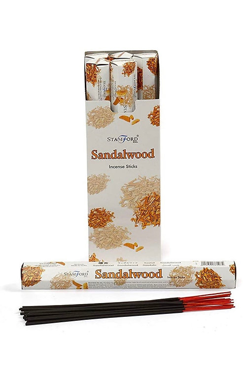 Stamford's Sandalwood Incense (Pack of 6)