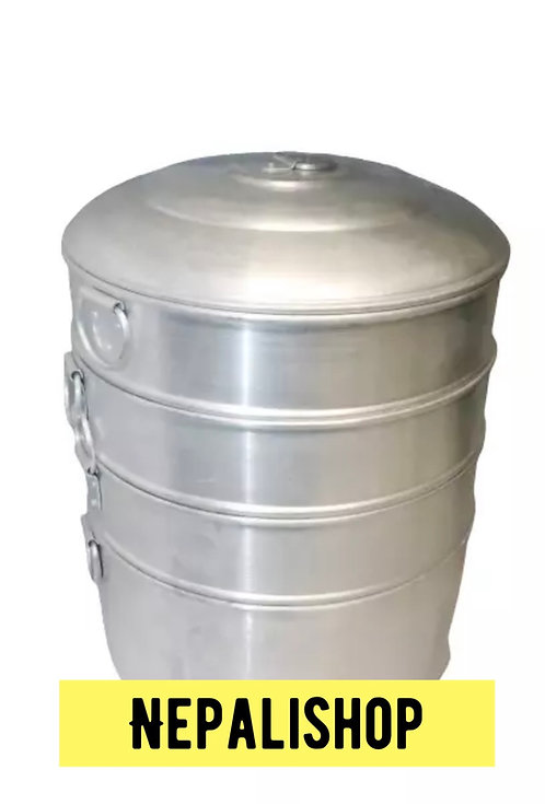 MOMO Steamer (4 Tier Dumpling Steamer)