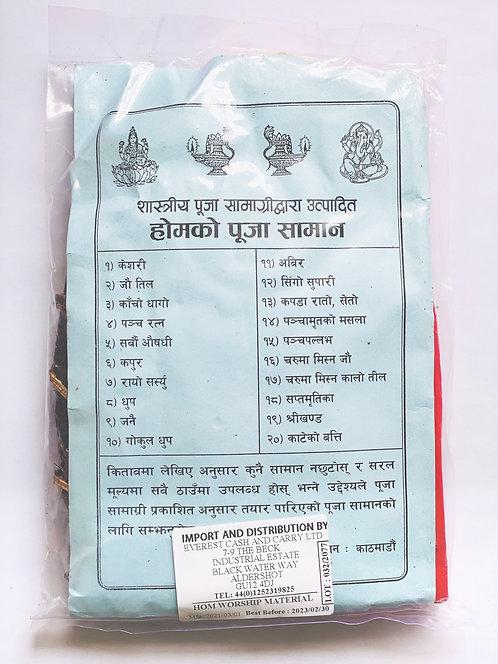 Puja Samagri for Hom