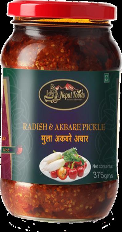NF Radish and Akbare pickle 375g