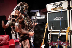 GWAR in the London Guitar's Lounge