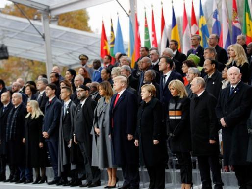 La commémoration du 11 Novembre: un événement symbolique à la fois national et international