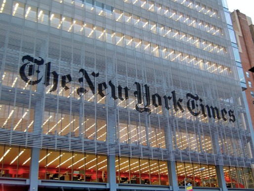 New-York Times endorsement