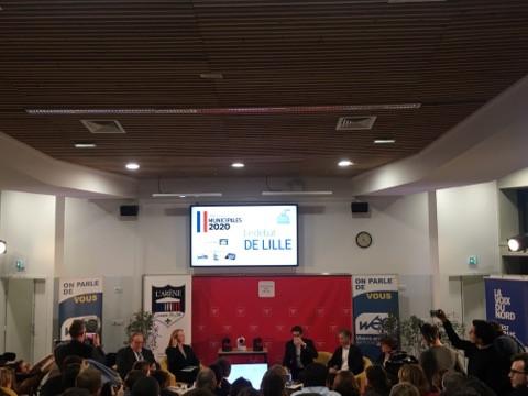 Débat des Municipales 2020 à Sciences Po Lille
