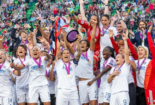L'Olympique lyonnais : origine d'une évolution en faveur du sport féminin