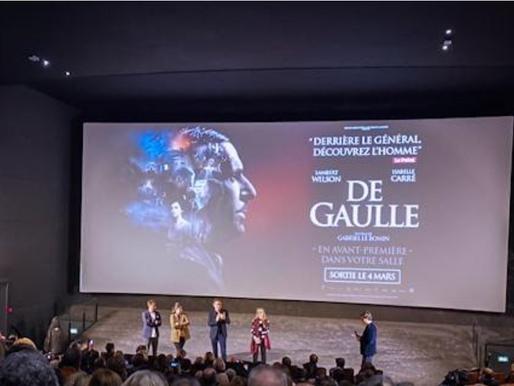 De Gaulle, retour sur l'avant-première du film