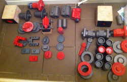 Selection of Train Castings/Patterns