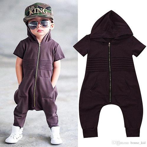 Crianças Moletom Com Capuz jumpsuit