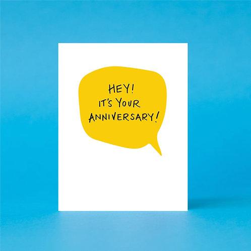 Your Anniversary!
