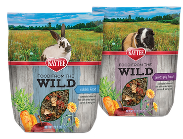 Food From The Wild Rabbit Guinea Pig Food Packaging Design