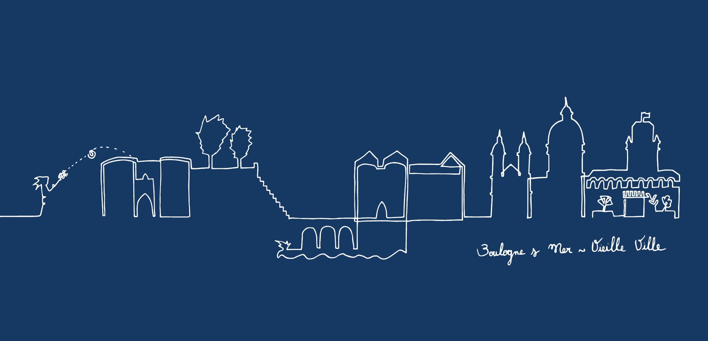 Bleu - Boulogne-Vieille-Ville
