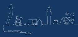 Bleu - Calais-côté-Plage