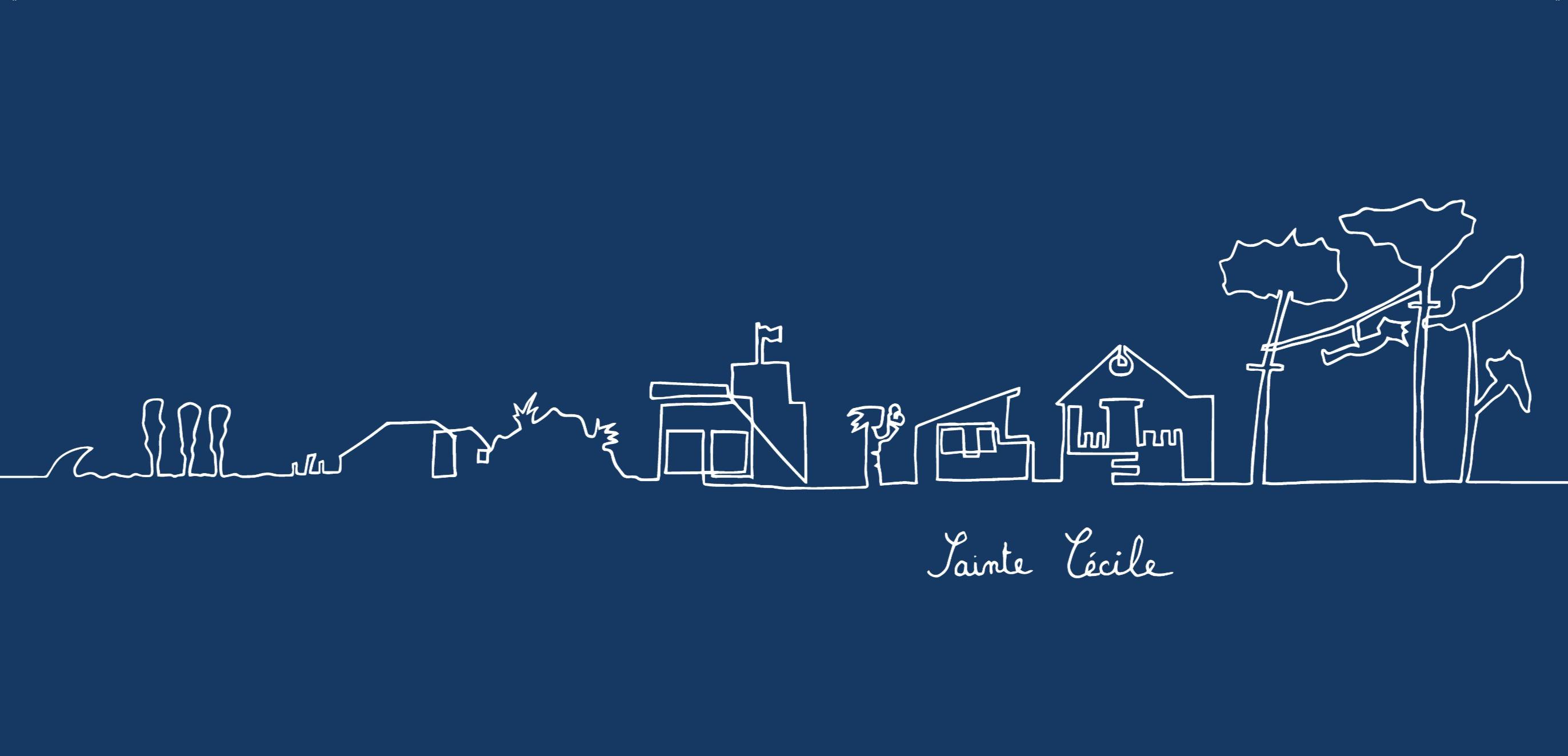 Bleu - Sainte Cécile
