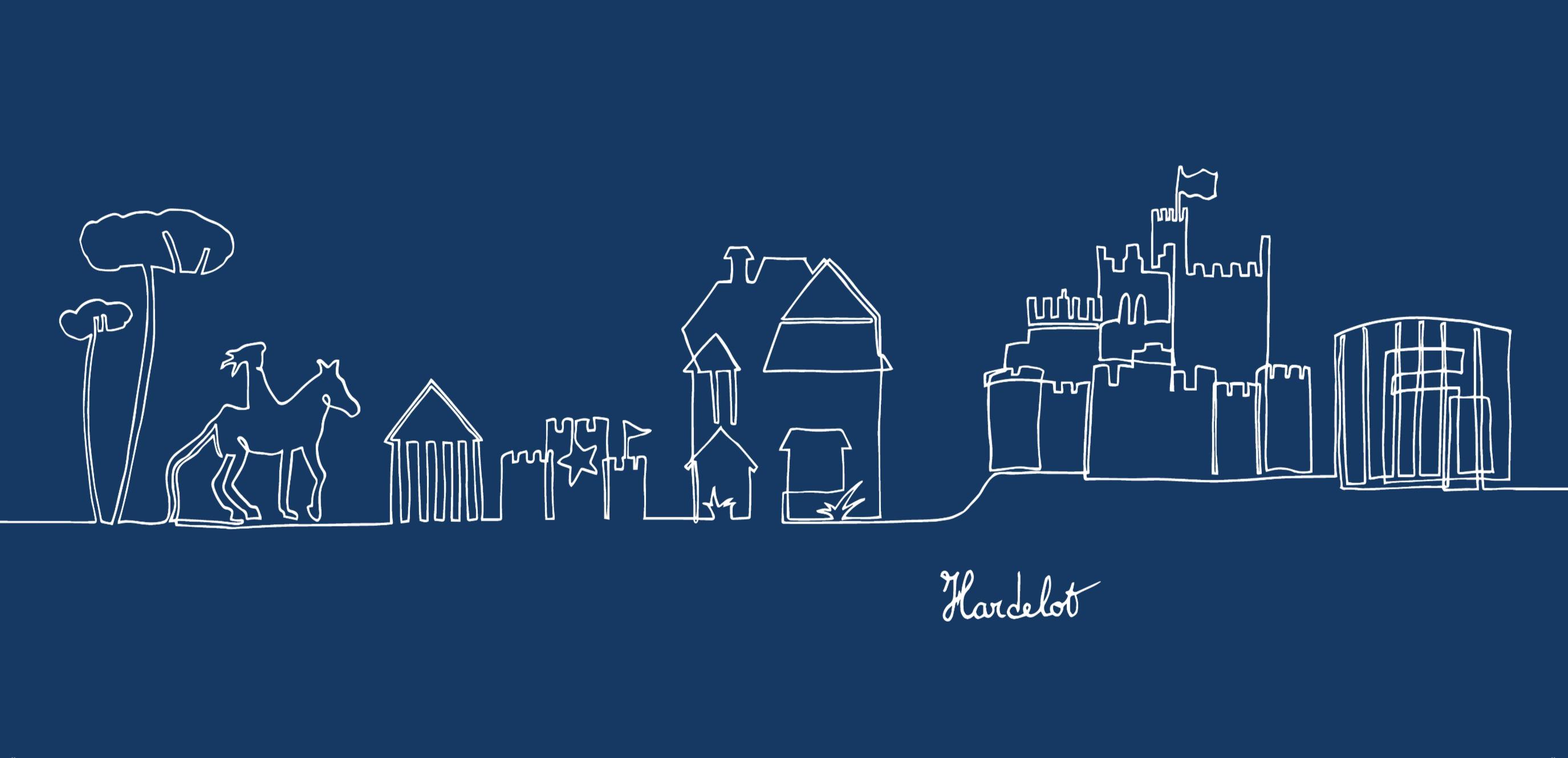 Bleu - Hardelot