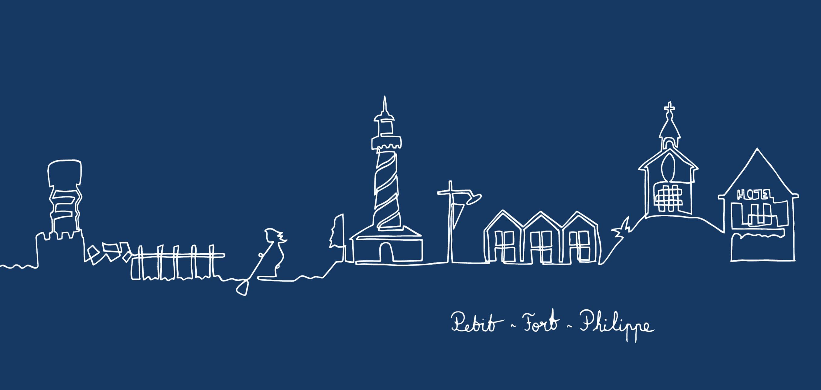 Bleu - Petit-Fort-Philippe