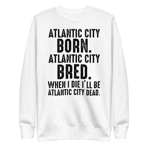 Atlantic City Mayor Small Light Born Unisex Fleece Pullover