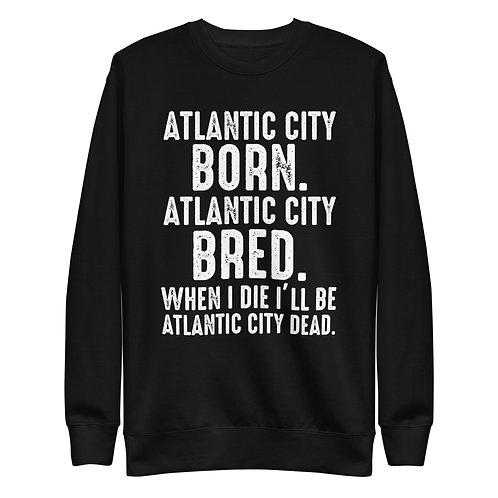 Atlantic City Mayor Small Born Dark Unisex Fleece Pullover