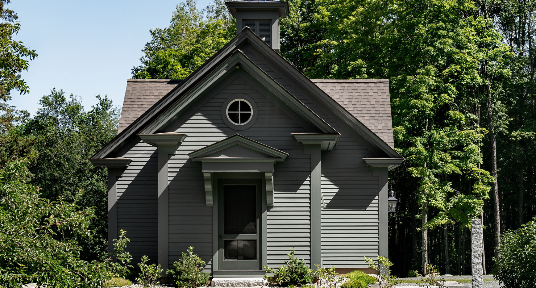 Carriage House, Side Entryway