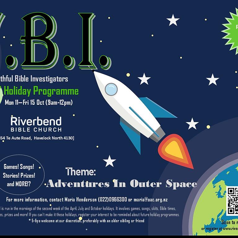 FBI Kid's Holiday Programme Riverbend Bible Church