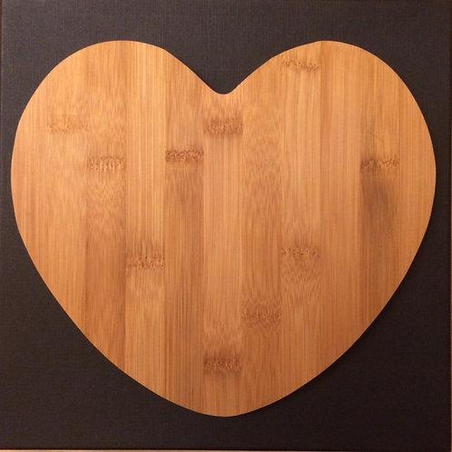 Broodplankje hart