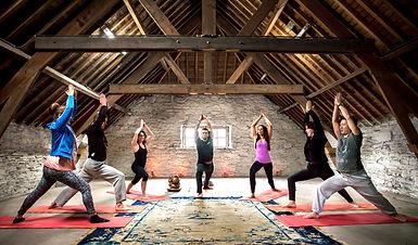 Yoga retraite in de ardennen