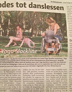 Artikel yoga slackline
