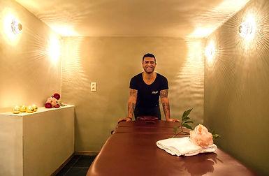 Massage ruimte yoga retraite Ardennnen