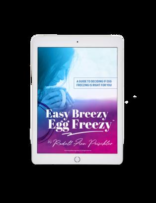 Egg Freezing Digital Book