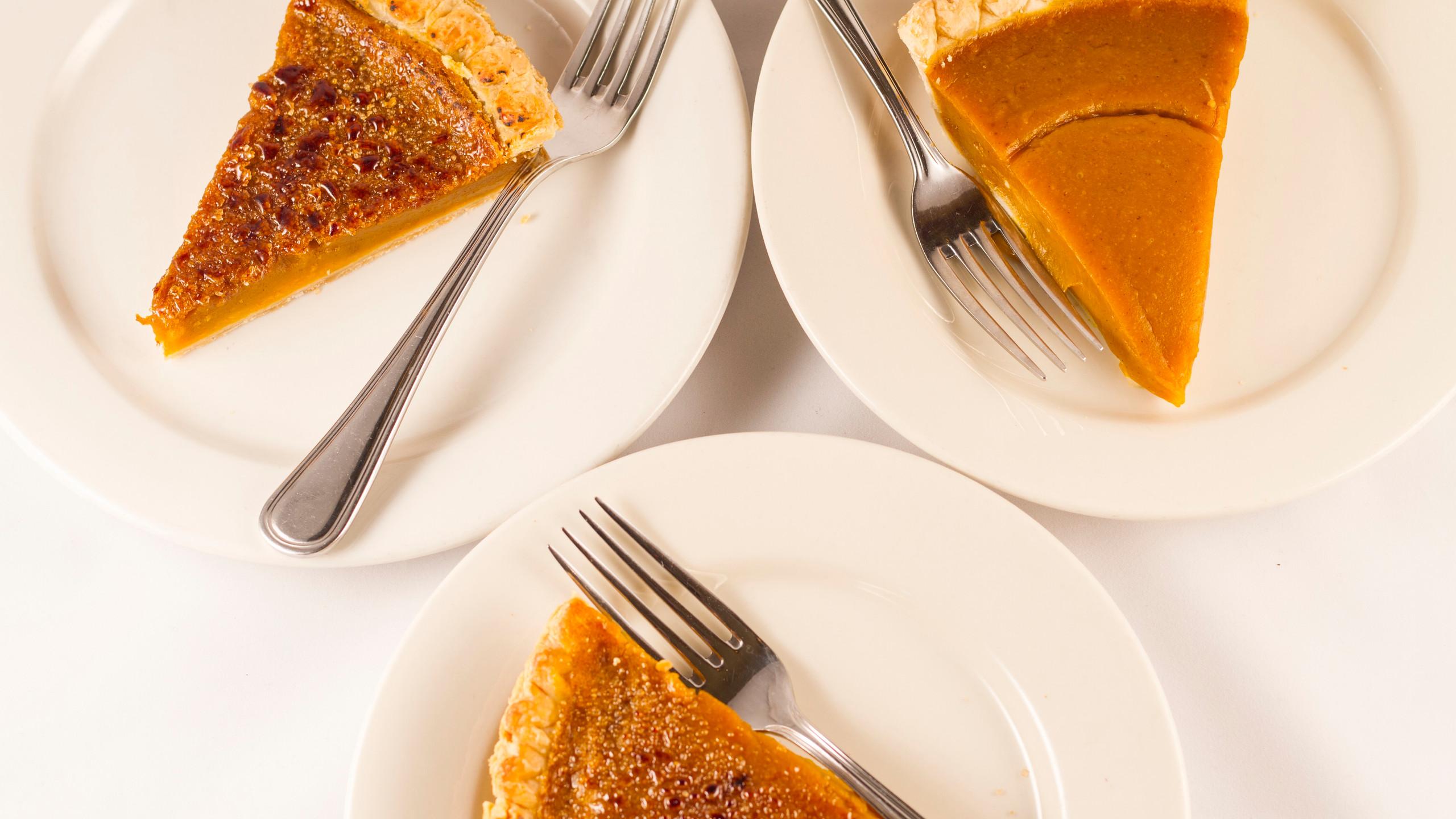 Organic Grill's Pumpkin Pie
