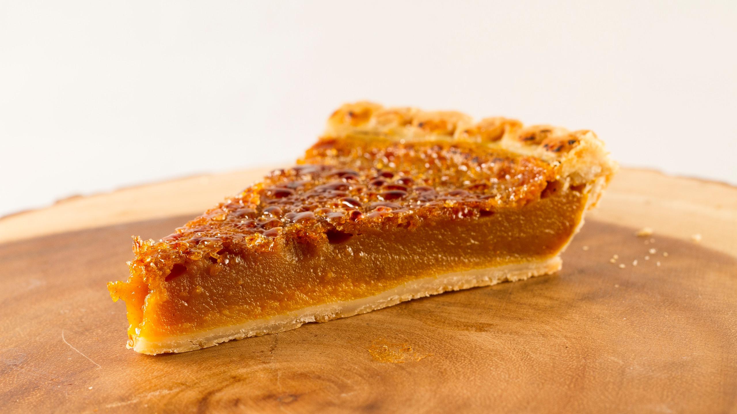 Organic Grill Pumpkin Pie