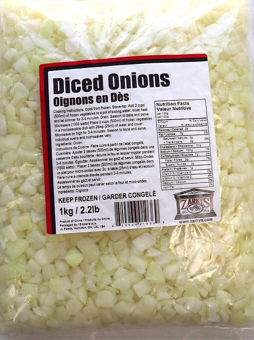 Diced Onions