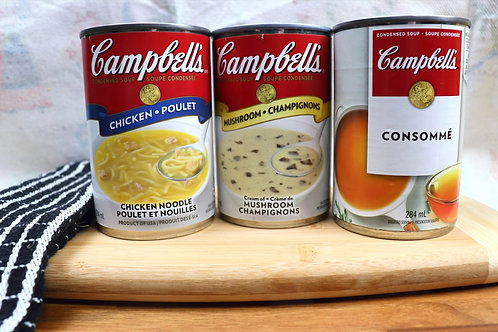 Campbells Canned Soup