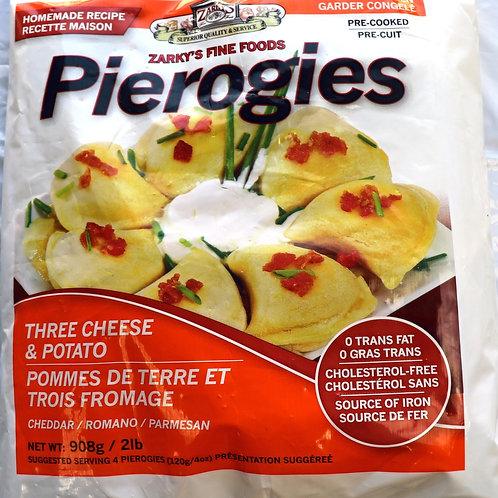 3 Cheese & Potato Pierogies