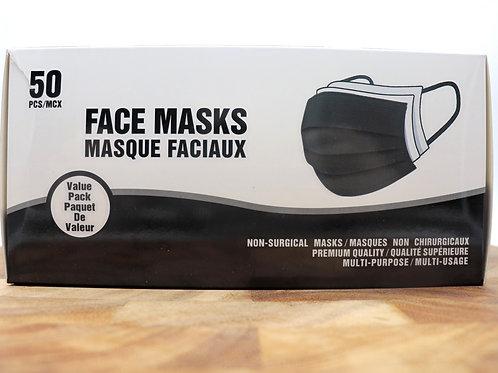 Black Face Masks