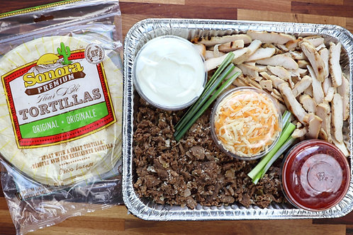 Chicken and Beef Taco Kits