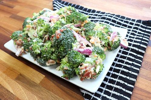 Broccoli & Cheese Salad with Bacon
